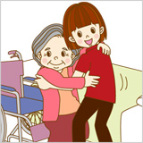 ソワン訪問介護センターの介護サービス 移乗介助